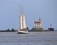 Tall Ship In Fairport Harbor