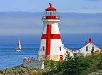 East Quoddy Head Lighthouse-New Brunswick, Canada